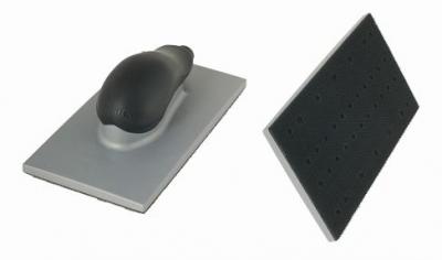 Kunststoff mi 1 St MIRKA Handblock mit Absaugung  70 x 198 mm Klett  22-Loch